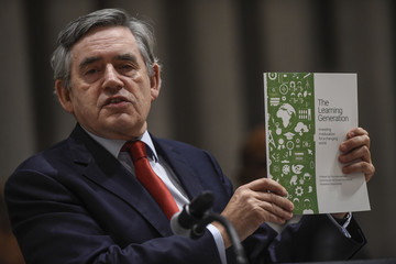 Gordon Brown The Education Commission Report Launch