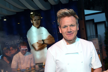 Gordon Ramsay Celebrity Chefs Light Up The Strip During Vegas Uncork'd By Bon Appetit's 11th Annual Grand Tasting At Caesars Palace
