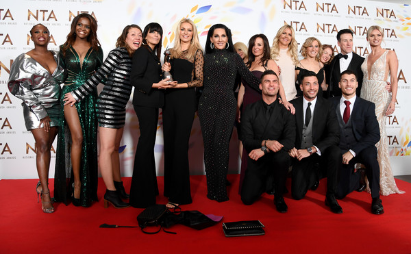National Television Awards 2020 - Winners Room [social group,event,premiere,red carpet,carpet,team,flooring,award,motsi mabuse,oti mabuse,claudia winkleman,tess daly,anton du beke,nadiya bychkova,gorka marquez,giovanni pernice,room,national television awards,leonard nimoy,motsi mabuse,sheldon leonard,kaley cuoco,the big bang theory,strictly come dancing,leonard hofstadter,penny,sheldon cooper,the big bang theory - season 9]