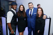 (L-R) Actor Taye Diggs, Gotham Magazine publisher Lynn Scotti Kassar, Arturo Pineiro and Samantha Yanks attend the Gotham Men's Issue Celebration at the BMW of Manhattan Showroom on November 16, 2017 in New York City.