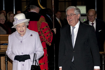 Governor Queen Elizabeth II And The Duke Of Edinburgh Visit The Bank Of England