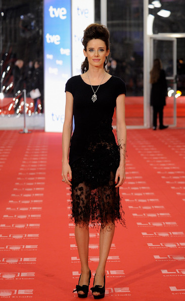 "Spanish actress Pilar Lopez de Ayala arrives to the 2011 edition of the ""Goya Cinema Awards"" ceremony at Teatro Real on February 13, 2011 in Madrid, Spain."