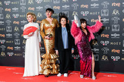 Marisa Paredes, Rossy de Palma, Julieta Serrano and Loles León attend the Goya Cinema Awards 2019 during the 33rd edition of the Goya Cinema Awards at Palacio de Congresos y Exposiciones FIBES on February 02, 2019 in Seville, Spain.