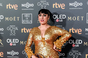 Rossy de Palma attends the Goya Cinema Awards 2019 during the 33rd edition of the Goya Cinema Awards at Palacio de Congresos y Exposiciones FIBES on February 02, 2019 in Seville, Spain.
