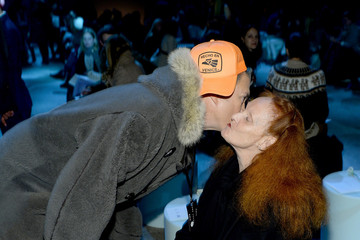 Grace Coddington Front Row at the Marc Jacobs Show