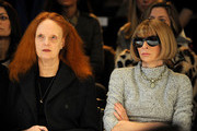 Grace+Coddington+Zac+Posen+Front+Row+Fall+aqZHdf1CVxRs Grace Coddington Designed a Balenciaga Handbag Inspired by Her Cat Pumpkin