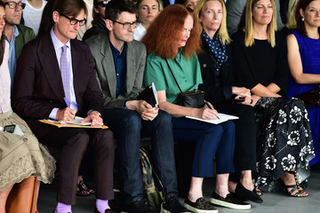 Grace Coddington Calvin Klein Collection - Front Row - Mercedes-Benz Fashion Week Spring 2015