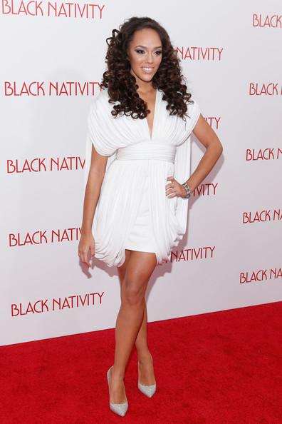 nativity premieres in nyc in this photo grace gibson grace gibson    Grace Gibson