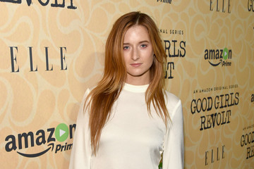 Grace Gummer Amazon Red Carpet Premiere Screening of Original Drama Series 'Good Girls Revolt'