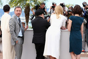 (R-L) Actresses Paz Vega, Nicole Kidman, director Olivier Dahan, actor Tim Roth and actress Jeanne Balibar attend the 'Grace of Monaco' photocall during the 67th Annual Cannes Film Festival on May 14, 2014 in Cannes, France.