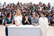 (L-R) Actresses Paz Vega, Nicole Kidman, director Olivier Dahan, actor Tim Roth and actress Jeanne Balibar attend the 'Grace of Monaco' photocall during the 67th Annual Cannes Film Festival on May 14, 2014 in Cannes, France.