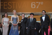 """Paz Vega, Nicole Kidman, Tim Roth, Olivier Daham attend  the Opening ceremony and the """"Grace of Monaco"""" Premiere during the 67th Annual Cannes Film Festival on May 14, 2014 in Cannes, France."""