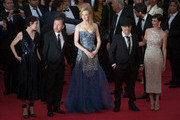 """Tim Roth, Nicole Kidman, Olivier Dahan and Paz Vega attend the Opening ceremony and the """"Grace of Monaco"""" Premiere during the 67th Annual Cannes Film Festival on May 14, 2014 in Cannes, France."""