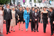 "(L-R) Jury members Carole Bouquet, Nicolas Winding Refn, Leila Hatam, Sofia Coppola, Jury President Sofia Coppola, jury members Gael Garcia Bernal, Zhangke Jia, Do-yeon Jeon and Willem Dafoe attends the Opening ceremony and the ""Grace of Monaco"" Premiere during the 67th Annual Cannes Film Festival on May 14, 2014 in Cannes, France."