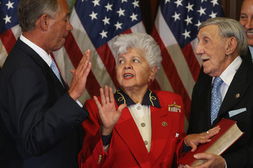 Grace Napolitano Lawmakers Convene for Opening of the 114th Congress