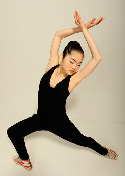 Grace song dancer grace song of the film 'fame high' visits the