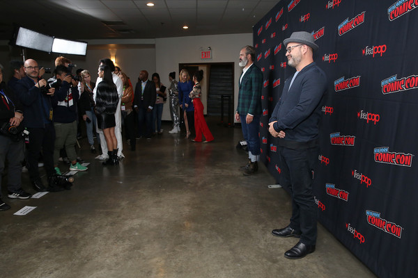 'Snowpiercer' At New York Comic Con 2019 [snowpiercer,event,steven ogg,graeme manson,press line,new york city,hammerstein ballroom,new york comic con]