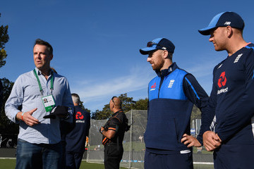 Graeme Swann New Zealand vs. England - 2nd Test: Day 1