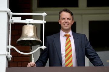 Graeme Swann England v West Indies - 3rd Investec Test: Day Two