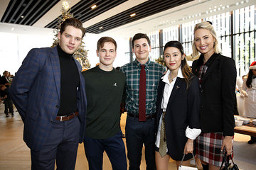 Graham Patrick Martin Brooks Brothers Hosts Annual Holiday Celebration To Benefit St. Jude At West Hollywood EDITION
