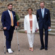 Grand Duchess Maria Teresa Of Luxembourg Baptism Of Prince Charles Of Luxembourg At L'Abbaye St Maurice De Clervaux