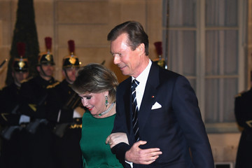 Grand Duke Henri Of Luxembourg Official Visit Of Grand-Duc Henri Of Luxembourg And Grande-Duchesse Maria Teresa Of Luxembourg: Day Two