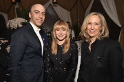 Departures Design Journalist Dan Rubinstein, Architectural Digest Editor in Chief Amy Astley and WSJ Magazine Design Writer Sarah Medford attend the Grand Opening Dinner Celebration of Molteni Group's New York Flagship on May 16, 2018 in New York City.