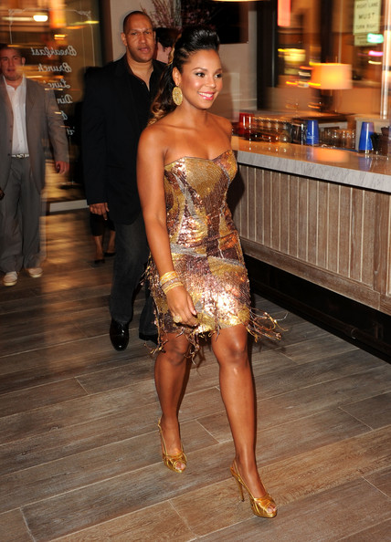 Ashanti in Grand Opening Party For Delphine Restaurant At ...