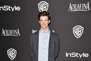 Grant Gustin InStyle And Warner Bros. Golden Globes Party — Part 2