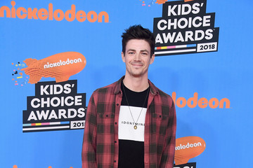 Grant Gustin Nickelodeon's 2018 Kids' Choice Awards - Arrivals
