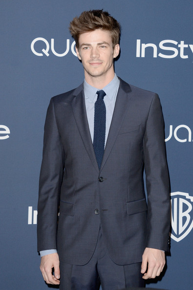 Grant Gustin PhotosPhotostream Main Articles Pictures Arrivals At The InStyle Warner Bros Golden Globes Party Part 2