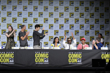 Grant Gustin Comic-Con International 2017 - 'The Flash' Video Presentation And Q+A