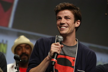Grant Gustin Warner Bros. At Comic-Con International 2014