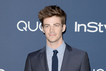 Grant Gustin Arrivals at the InStyle/Warner Bros. Golden Globes Party — Part 2