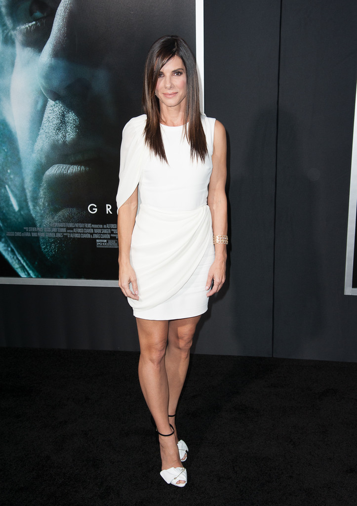 Sandra Bullock  attends at the 'Gravity' premiere at AMC Lincoln Square Theater on October 1, 2013 in New York City.