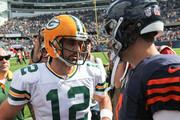 Aaron Rodgers Jay Cutler Photos Photo