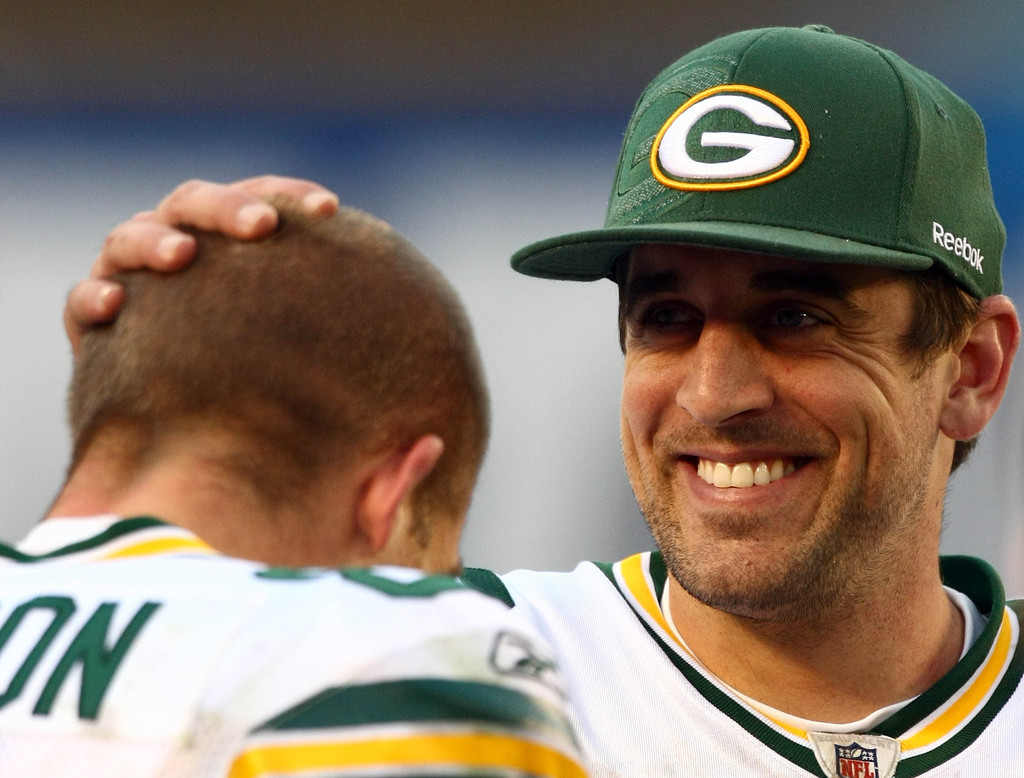 Aaron Rodgers and Jordy Nelson s s Green Bay Packers v
