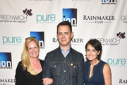 (L-R) Colleen deVeer, Colin Hanks and Wendy Stapleton Reyes attend Greenwich Film Festival 2015 - Changing Face Of Television on June 6, 2015 in Greenwich, Connecticut.
