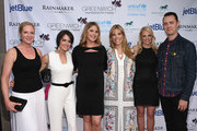(L-R) Colleen deVeer, Wendy Stapleton Reyes, Jenna Bush Hager, Carina Crain, Ginger Stickel and Colin Hanks attend Greenwich Film Festival 2015 - All Things Must Pass Opening Night Premiere at Bow Tie Cinemas on June 5, 2015 in Greenwich, Connecticut.