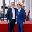 Greg Berlanti Television Executive Peter Roth Honored With Star On The Hollywood Walk Of Fame