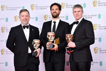 Greg Butler EE British Academy Film Awards 2020 - Winners Room