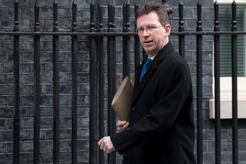 Greg Clark Cabinet Meeting at 10 Downing Street
