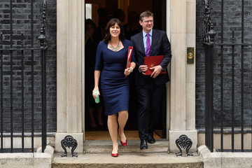 Greg Clark Ministers Attend First Cabinet Meeting After The Summer Recess