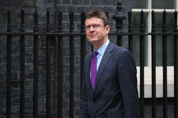 Greg Clark Ministers Attend Cabinet Meeting At Downing Street