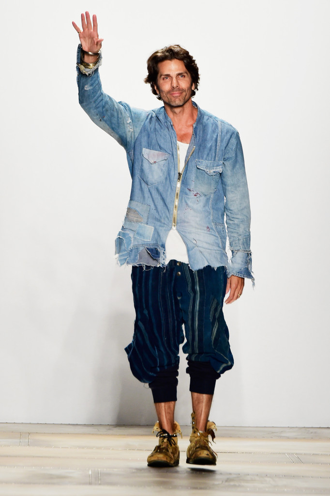 Greg lauren in greg lauren runway spring 2016 new york for Fashion exhibitions new york
