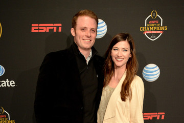 Greg McElroy and his wife, Meredith Gray