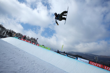 Gregory Bretz FIS Freestyle World Cup - Snowboard Halfpipe Qualification