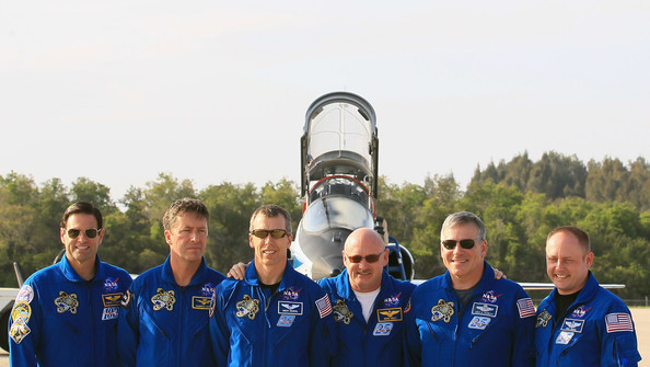 STS-134 Astronauts Arrive At Cape Canaveral For Pre-Launch Tests