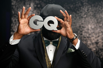 Gregory Porter Backstage - GQ Men of the Year Award 2017