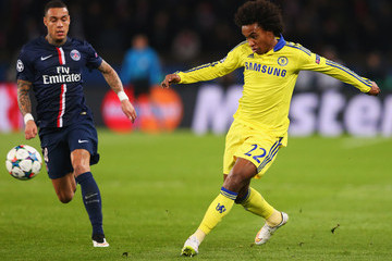 Gregory van der Wiel Paris Saint-Germain v Chelsea - UEFA Champions League Round of 16
